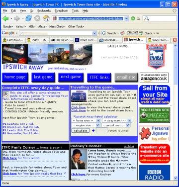 My first ever website